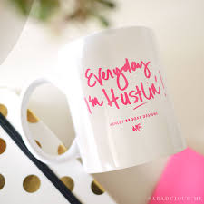 indigo home office. everyday iu0027m hustlin mug indigo home office o