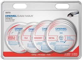 dremel saw max cutting wheel kit tile wood plastic masonry metal 7 piece new