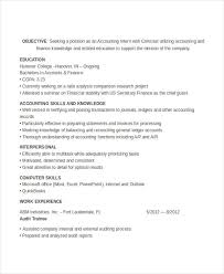 Accounting Student Resume Fascinating 28 Accountant Resume Design Templates PDF DOC Free Premium