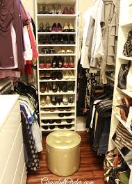 master closet organizing
