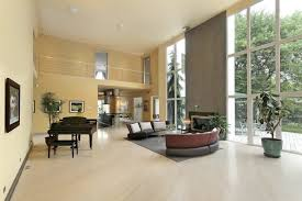 Light hardwood floors dark furniture Light Cabinet This Modern Home Has Very Open Floor Plan The Pale Hardwood Flooring Pops Against Home Stratosphere 22 Living Rooms With Light Wood Floors pictures