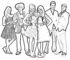 Small Picture Top 74 High School Musical 3 Coloring Pages Tiny Coloring Page