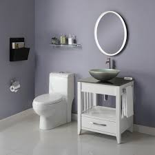 Vanities and sinks for small bathrooms