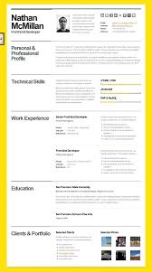 Free Creative Resume Template Adorable Free Creative Resume Templates For Good Cv Template Word