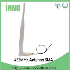 5pcs <b>433Mhz Antenna 5dBi</b> SMA Male Connector antenne <b>433 mhz</b> ...