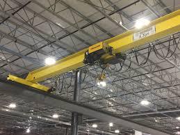 5 ton top running single girder overhead crane featuring street zx064 wire rope hoist