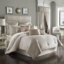ivory comforter set queen tan beige bedding comforters 6