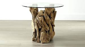 full size of tall glass round side table top black creative driftwood coffee home ideas kitchen