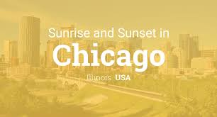 Sunrise And Sunset Times In Chicago April 2019