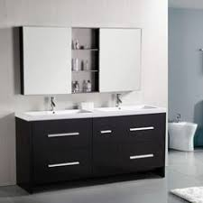 bathroom cabinet design. Interesting Design Design Element DEC079B Perfecta 72in Double Bathroom Vanity Set Brown Throughout Cabinet O