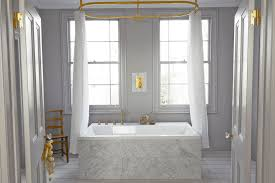 collect this idea warm metal bathroom freshome9