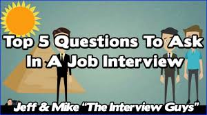 top interview questions to ask in a job interview top 5 interview questions to ask in a job interview