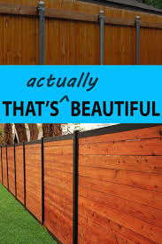 metal post. Plain Metal Wood Fence With Metal Posts Thatu0027s Beautiful And Post