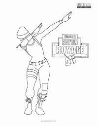 Ferdinand Da Colorare Fortnite Dab Coloring Page To Draw In 2018