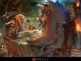 lone druid fanart by guofeng dota2