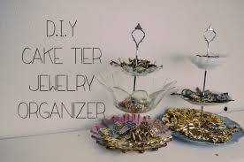Jewelry Organizer Diy Diy Cake Tier Jewelry Organizer Youtube