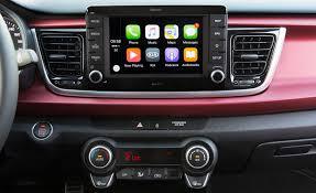 2018 kia interior. plain kia 2018 kia rio hatchback interior view center headunit screen photo 29 of 49 on kia interior