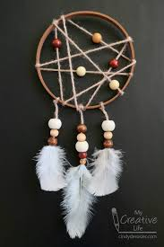 What To Use For A Dream Catcher Hoop Embroidery Hoop Dream Catcher Fun Family Crafts 37