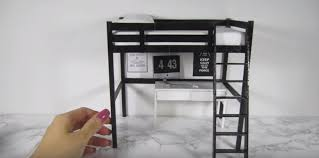 ikea dolls house furniture. Dollhouse Furniture IKEA STORA Loft Bed Ikea Dolls House