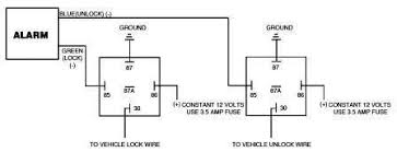 door lockcar wiring diagram 3 wire negative trigger door lock schematic