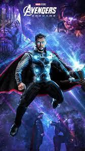 Full Hd Avengers Endgame Thor 3d Wallpaper