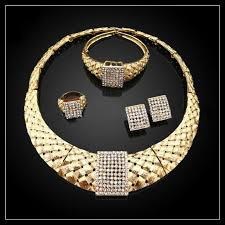 italian gold plated jewelry sets