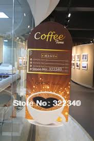 Coffee Shop Display Stands Window Glass Suction Cup Cupule advertising display exhibit 91