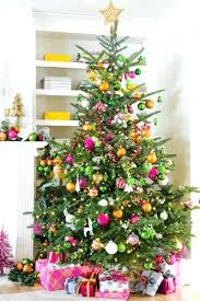 pink and green christmas decorations raspberry pink and orange tree maria  via pink christmas tree decorations