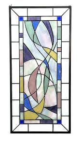 large stained glass contemporary window ribbons studio modern art by windows