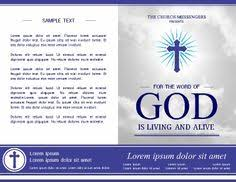 Templates For Church Programs 9 Best Church Bulletins And Program Templates Images