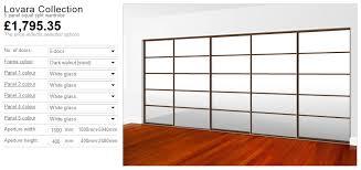 design oriental sliding wardrobe doors
