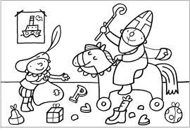 Pompom Kleurplaten Sinterklaas Norskiinfo