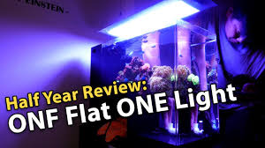 Onf Flat One Light Onf Flat One Aquarium Light Owner Review Half Year
