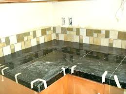 can you tile over laminate countertops tile over laminate installing granite tile over laminate laying granite