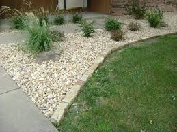 stone edging for flower beds images | ... of Mulch, Decorative Rock,