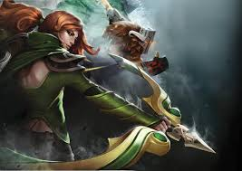 windrunner dota 2 heroes wallpaper hd wallpaper game hd