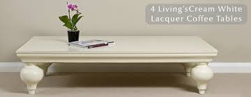 white lacquer coffee tables chinese