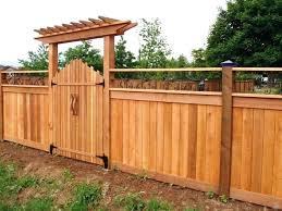 Backyard Gate Ideas Fascinating Wood Gate Ideas Fascinating Wooden