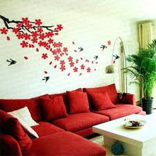ikea wall decals wall decals style crystal thick three dimensional cherry swallow wall sticker wall decor ikea wall decals