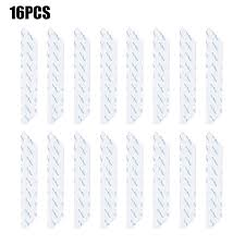 one pack of 16pcs anti curling rug grips non slip rug pads carpet grippers reusable removable