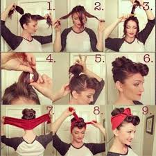 Pin Up Hair Step By Step Will Be Trying This Projekty Na