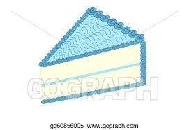 birthday cake slice drawing. Brilliant Drawing A Slice Of Birthday Cake Bl Icing With Cake Drawing W