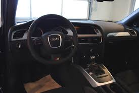 black audi a4 interior. 2009 audi a4 b8 black interior