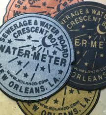 27 round plush new orleans water meter doormat new