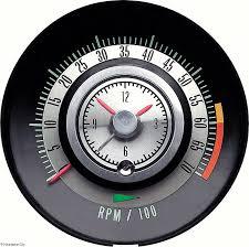 1968 camaro tachometer 6000 7000 redline factory quartz 1968 camaro tachometer 6000 7000 redline factory quartz clock tic toc tac oe quality original gm 6468715