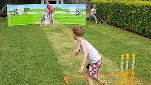 Cricket Australia Interactive Cricket Set  Australian Geographic Backyard Cricket Set