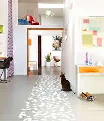 diy project painted floor runner