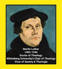 History Facts ²⁴⁷ On Twitter On 31 Oct 1517 Martin Luther Posted