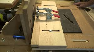 Horizontal Router Table Mortise Side Rails Youtube