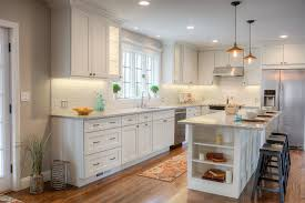 Efficient Kitchen Layout with Island Storage